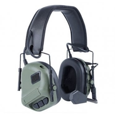 Nuprol Tactical Comms Headset Noise Reducing - Olive Drab Green