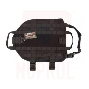 Nuprol Tactical Dog Vest - Black