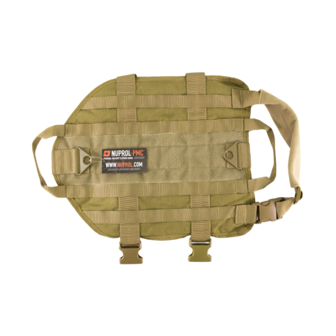 Nuprol Tactical Dog Vest - Tan