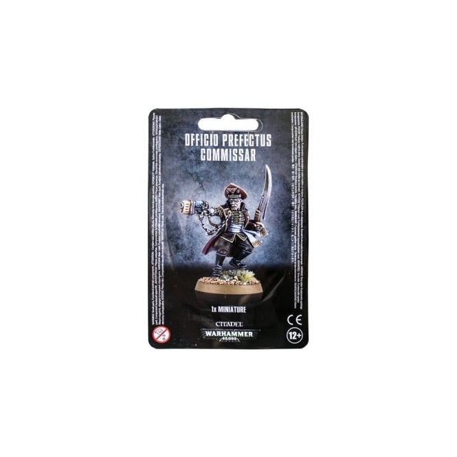 Games Workshop Officio Prefectus Commisar Warhammer 40,000