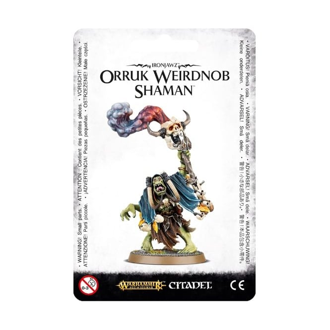 Games Workshop Ork Ironjawz Orruk Weirdnob Shaman