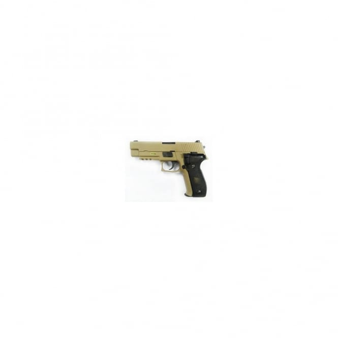 WE P226 GBB With Tactical Rail (Tan)