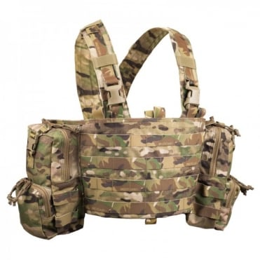 Platatac Peacekeeper Molle Chest Rig - Multicam