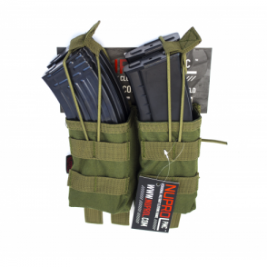 PMC AK Double Open Mag Pouch - Green