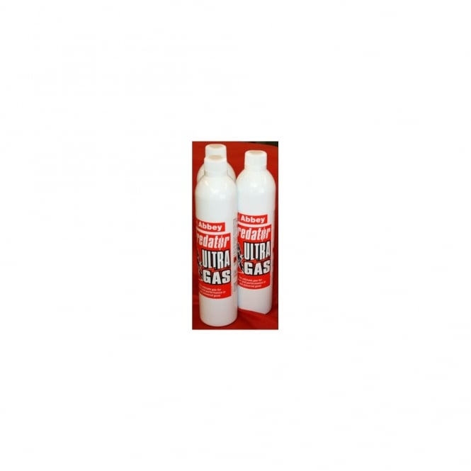 Abbey Predator Ultra Gas (700ml) Case of 12