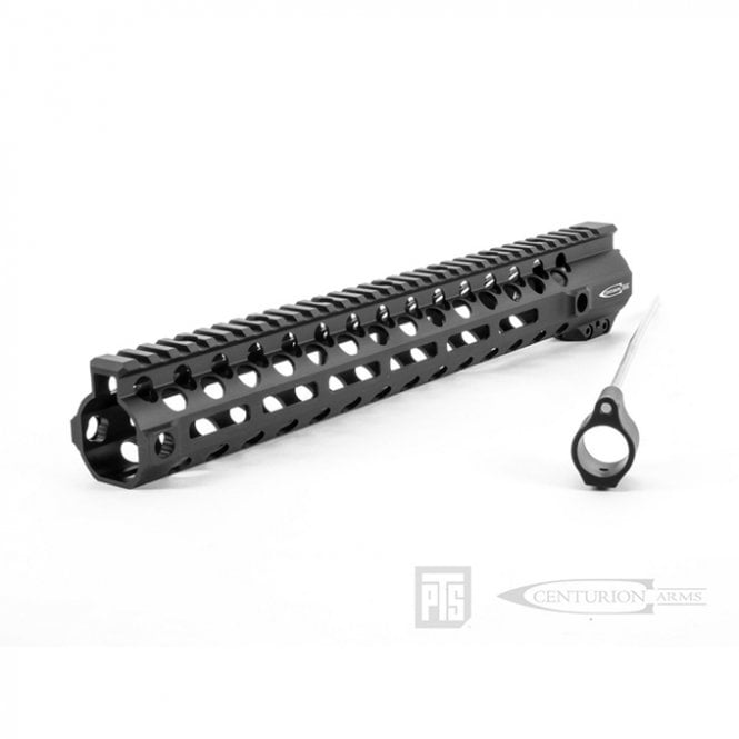 "PTS Syndicate Airsoft PTS Centurion Arms CMR Rail 13.5"" (M-LOK) - Black"