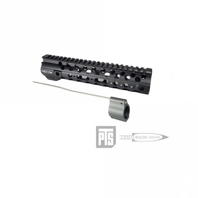 """PTS Syndicate Airsoft PTS Centurion Arms CMR Rail 9.5"""" Black"""