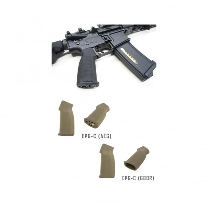 PTS Syndicate Airsoft PTS® Enhanced Polymer Grip - Compact (EPG-C) AEG-Dark earth