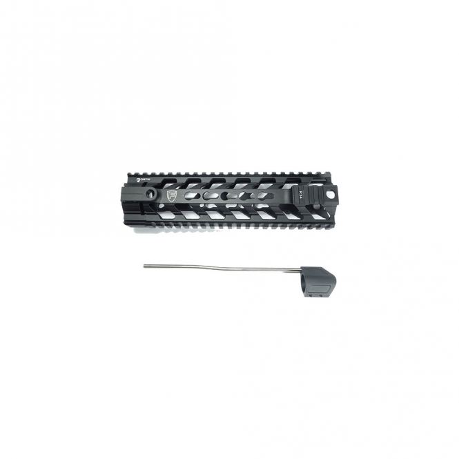 """PTS Syndicate Airsoft PTS® Fortis Float Rail System 9"""" Inch Black"""
