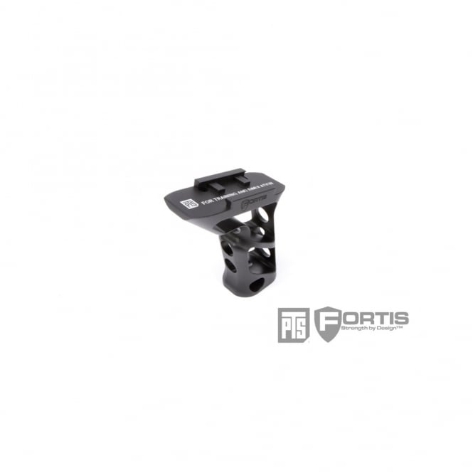 PTS Syndicate Airsoft PTS Fortis SHIFT Vertical Grip (Rail Mount) - Black