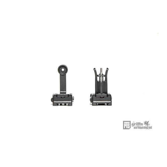 PTS Syndicate Airsoft PTS Griffin Armament Modular Back Up Iron Sight Set (BUIS)