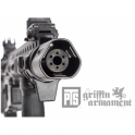 PTS Syndicate Airsoft PTS Griffin Armament QD Blast Shield Black