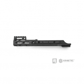 "PTS Kinetic SCAR MREX M-LOK 4.9"" Rail System - Black"
