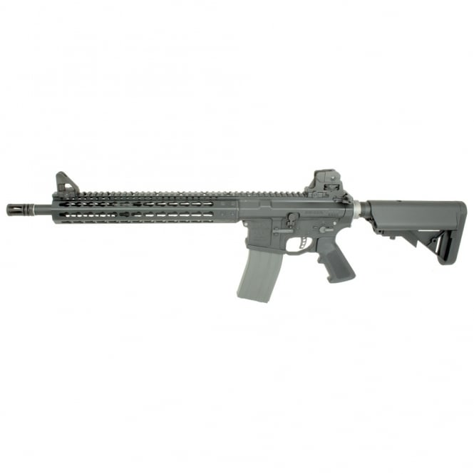 PTS Syndicate Airsoft Mega Arms MKM AR15 - Black