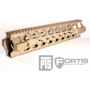 "PTS® Fortis Float Rail System 12"" Inch Dark Earth"