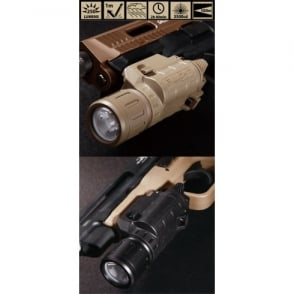 Beta Project P Light Weapon Mounted Flashlight Dark Earth