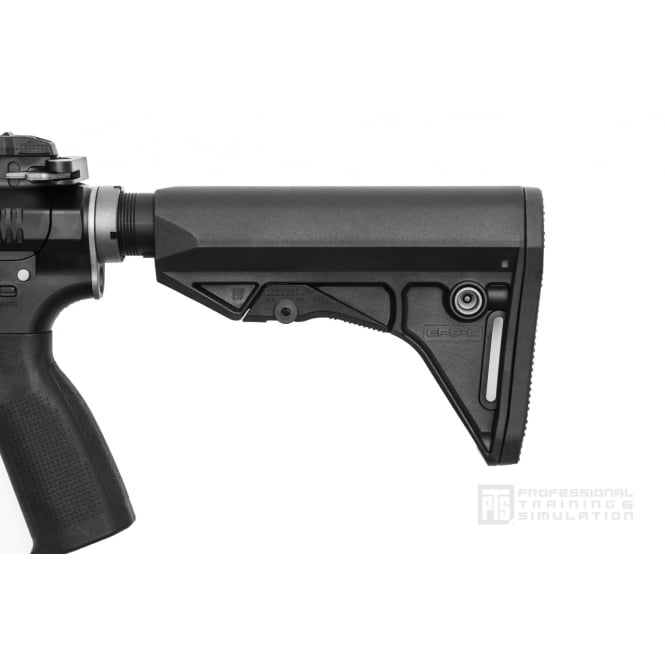 PTS Syndicate Airsoft Enhanced Polymer Compact Stock (EPS-C) - Black