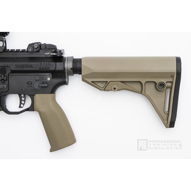 PTS Syndicate Airsoft Enhanced Polymer Compact Stock (EPS-C) - Dark Earth