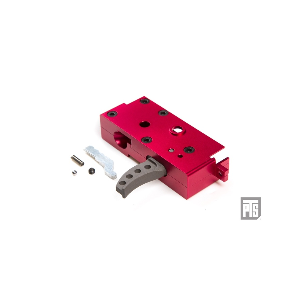 PTS Syndicate Airsoft Enhanced Systema PTW Gearbox - Red