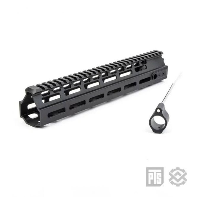 "PTS Syndicate Airsoft Kinetic MREX AR M-LOK 11"" Rail"