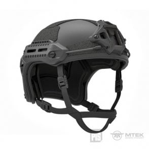 PTS Syndicate Airsoft MTEK Licensed Flux Helmet - Black