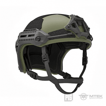 PTS Syndicate Airsoft MTEK Licensed Flux Helmet - OD Green