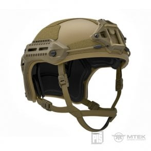 PTS Syndicate Airsoft MTEK Licensed Flux Helmet - Tan