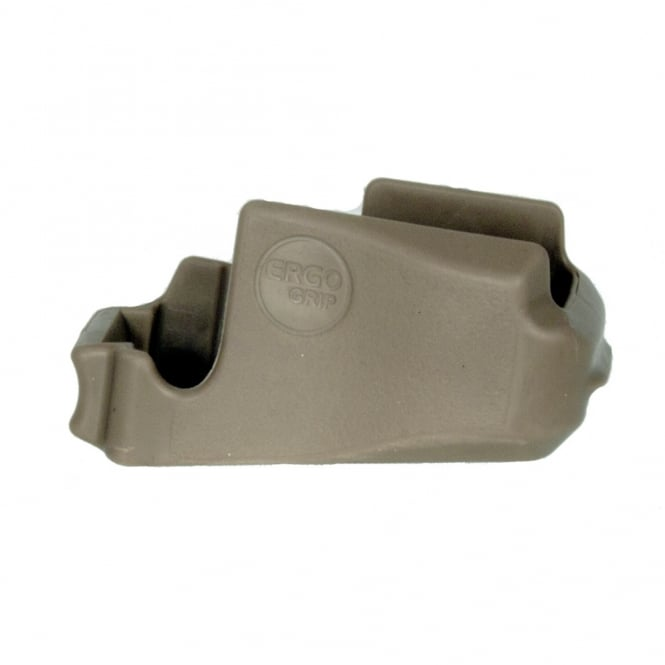 PTS Syndicate Airsoft PTS ERGO Never Quit Magwell Grip Tan