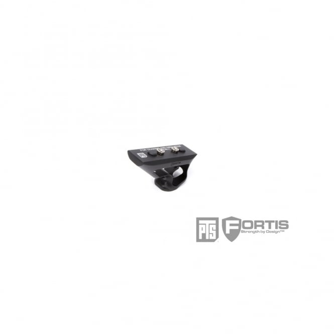 PTS Syndicate Airsoft PTS Fortis SHIFT Short Angle Grip (Keymod) - Black