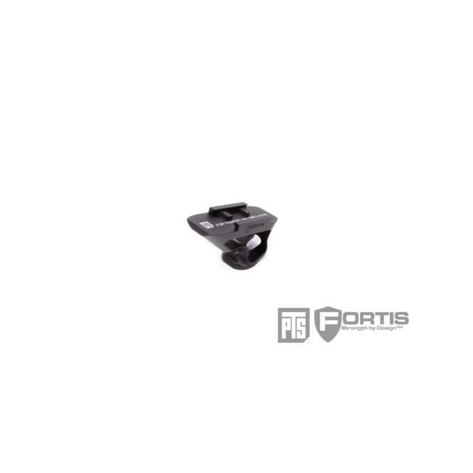 PTS Syndicate Airsoft PTS Fortis SHIFT Short Angle Grip (Rail Mount) - Black