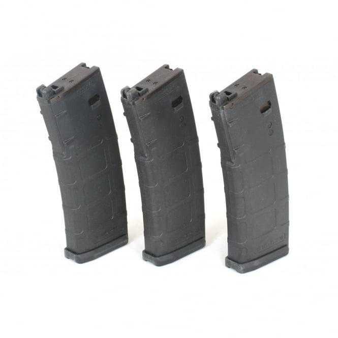 PTS Syndicate Airsoft PTS KWA 38 Round PMAG GBB Magazine for LM4 / M4 / Mega Arms MKM - 3 Pack