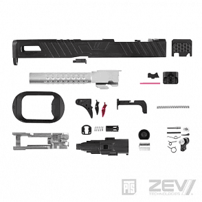 PTS Syndicate Airsoft ZEV G17 Slide Kit - Omen (Leupold)