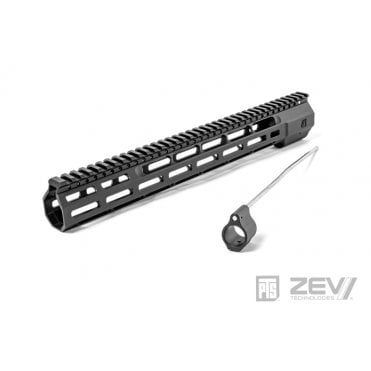 "PTS Syndicate Airsoft ZEV Wedge Lock 14"" Rail - Black"