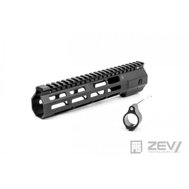 "PTS Syndicate Airsoft ZEV Wedge Lock 9.5"" Rail - Black"