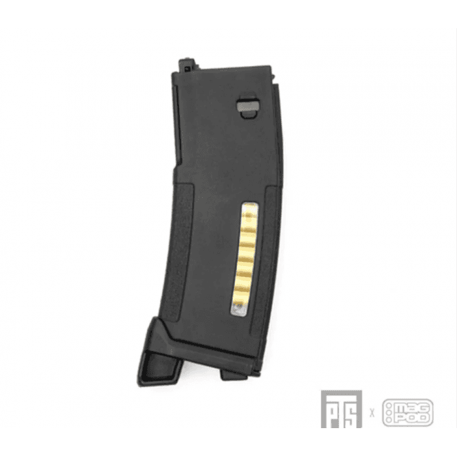 PTS Syndicate Airsoft PTS Syndicate EPM Magazine with Magpod - for Systema PTW M4/M16 - Black