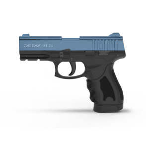 Retay PT-24 9mm Blank Firing Pistol - Black / Blue
