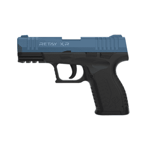 Retay XR 9mm Blank Firing Pistol - Black / Blue
