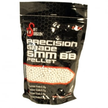 RWA Airsoft Surgeon ABS Precision Grade 0.30g BBs (4000rds)