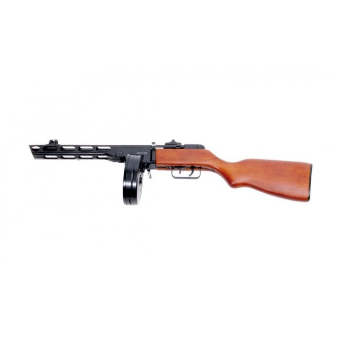 S&T PPSH Electric Blow Back AEG (Real Wood)