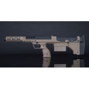 Silverback Airsoft SRS A2/M2 Sport Sniper Rifle - 16in Barrel, FDE Stock, Right Hand