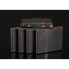 Silverback Airsoft SRS Polymer Magazine for A2/M2 Rifle - 25 Rounds/5 Pack - Black