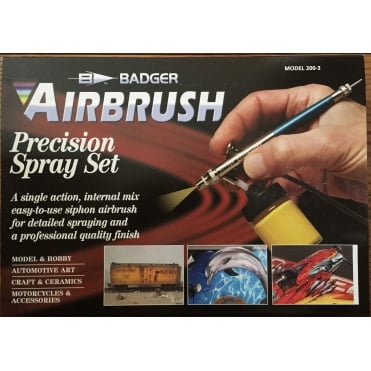 Siphon Feed 200 Airbrush w/propellant