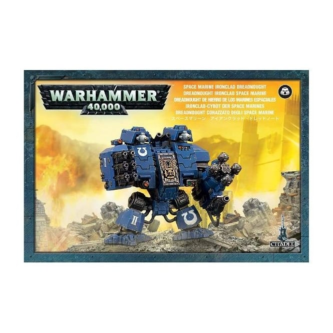 Games Workshop Space Marine Ironclad Dreadnought Warhammer 40,000