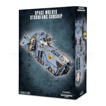 Space Marine Space Wolves Storm Fang Gunship
