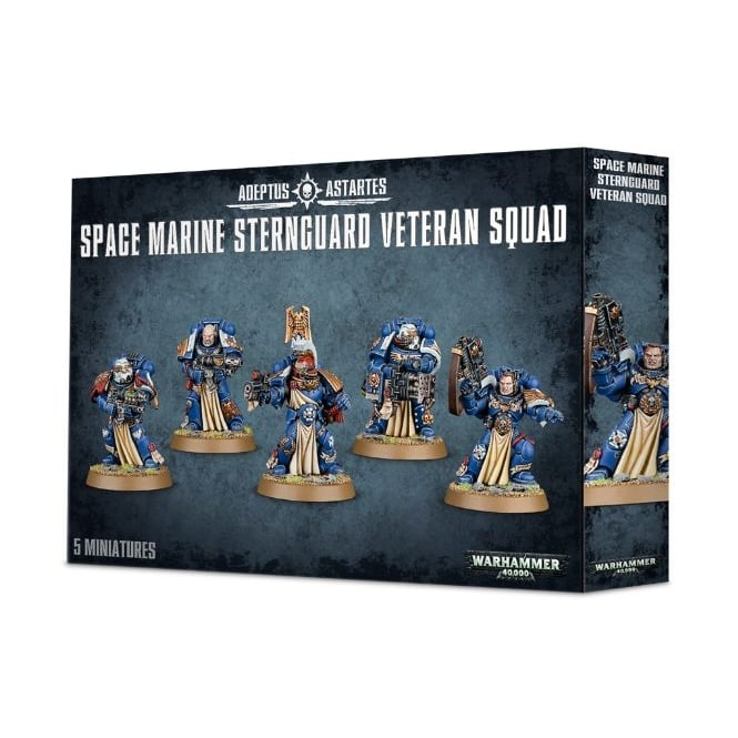 Games Workshop Space Marine Sternguard Veteran Squad Warhammer 40,000