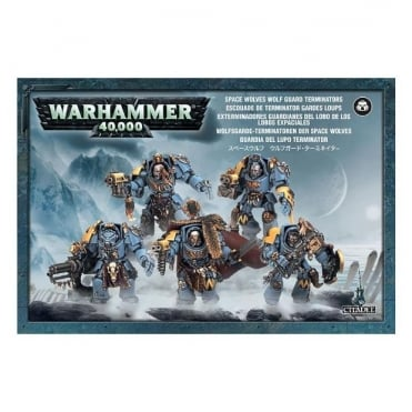 Space Marines Space Wolf Guard Terminators
