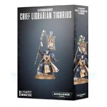 Space Marines Ultramarines : Chief Librarian Tigurius