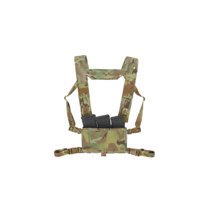 Spiritus Systems Mk 3 Micro Fight Chest Rig - Wolf Grey