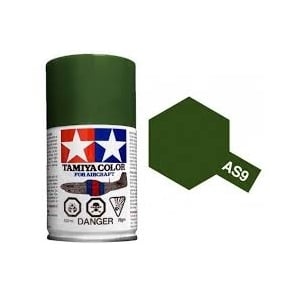 Spray Paint AS-9 Dark Green (RAF)