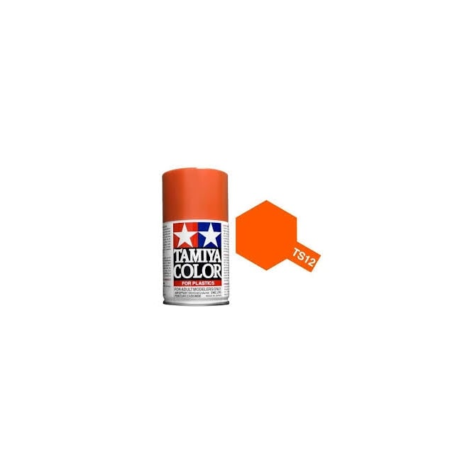 Tamiya Spray Paint TS-12 Orange